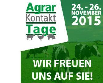 Kostenloses e-Ticket für AgrarKontaktTage